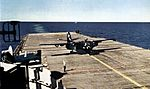 S2F-1 of VS-20 on USS Princeton (CVS-37) 1956.jpg