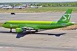 S7 Airlines, VQ-BDF, Airbus A320-214 (41408266214).jpg