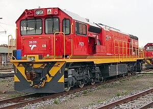 South African Class 39-200 - Image: SAR Class 39 200 39 219