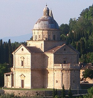 Montepulciano - The Sanctuary of San Biagio.
