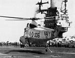 SH-3G of HC-1 on USS Hancock (CVA-19) c1973.jpg