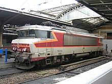 フランス国鉄BB7200形電気機関車