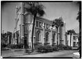 SOUTH SIDE AND WEST FRONT - Mickve Israel Synagogue, 428 Bull Street, Savannah, Chatham County, GA HABS GA,26-SAV,76-2.tif