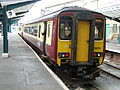 SPT livery train in England.jpg