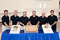 STS-134 cake-cutting ceremony.jpg