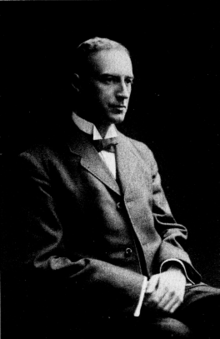 Photo of professor Wallace Clement Sabine