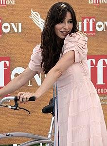 Sabrina Impacciatore al Giffoni Film Festival del 2010