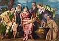 Sagrada Familia con San Juanito, Zacarías, San Francisco, Santa Isabel y Santa Catalina (Tintoretto).jpg