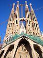 Sagrada Familia facciata della passione.JPG