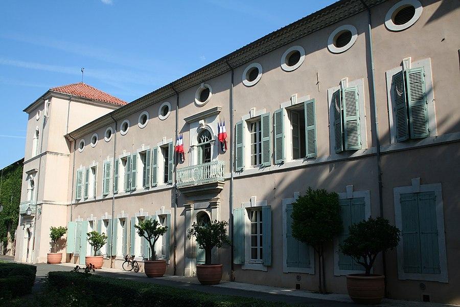 Saint-Chinian (Hérault) - mairie.