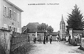 Saint-Didier-de-Bizonnes at the start of the 20th century