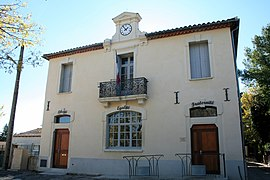 The town hall in Saint-Vincent-de-Barbeyrargues
