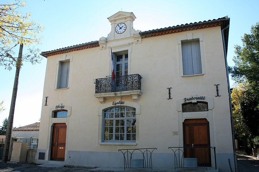 Saint-Vincent-de-Barbeyrargues (Hérault) - mairie.