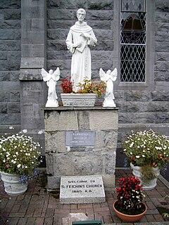 Féchín of Fore Irish saint