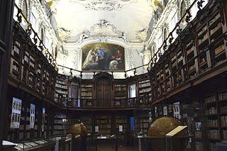 Biblioteca Classense library in Ravenna, Italy