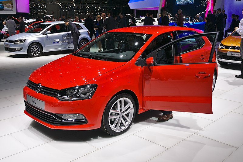 file salon de l 39 auto de gen ve 2014 20140305 volkswagen polo wikimedia commons. Black Bedroom Furniture Sets. Home Design Ideas