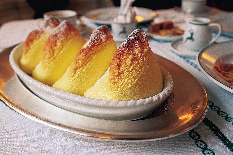 Salzburger Nocken. From an eating tour of Austria