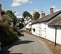 Sampford Courtenay main street, Devon, England.jpg