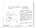Samuel M. Nickerson House, 40 East Erie Street, Chicago, Cook County, IL HABS ILL,16-CHIG,54- (sheet 1 of 6).png