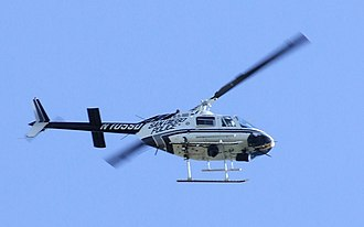 San Diego Police Department - San Diego Police ABLE helicopter