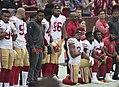 San Francisco 49ers National Anthem Kneeling (37721041581).jpg