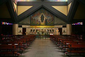 Baccio Maria Bacci - San Giuseppe Calasanzio mosaic