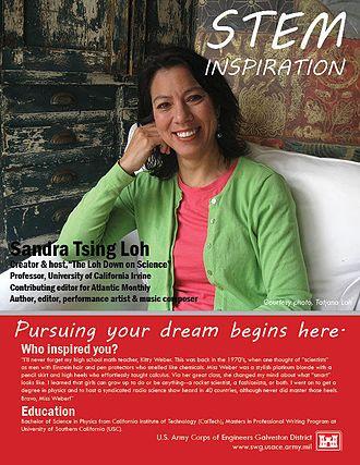 Sandra Tsing Loh - Image: Sandra Tsing Loh USACE poster