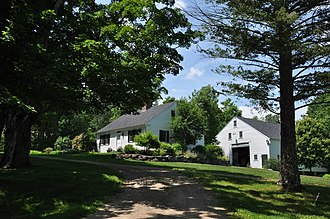 National Register of Historic Places listings in Carroll County, New Hampshire - Image: Sandwich NH Beede Farm