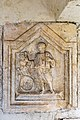 Sankt Veit Sankt Donat Pfarrkirche hl. Donatus Turmvorhalle Dienerrelief 18102015 8092.jpg