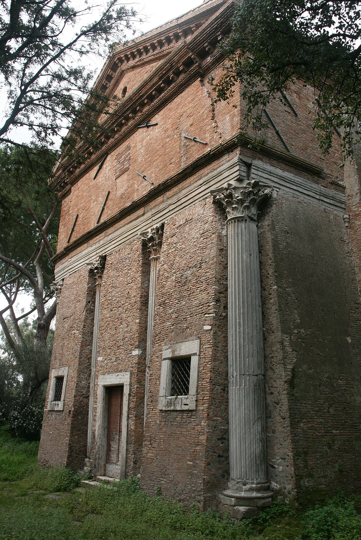 Sant Urbano Alla Caffarella Rome Wikipedia