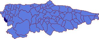 Santa Eulalia de Oscos - Image: Santa Eulalia de Oscos