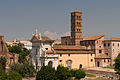 Santa Francesca Romana, from Palatine hill.jpg