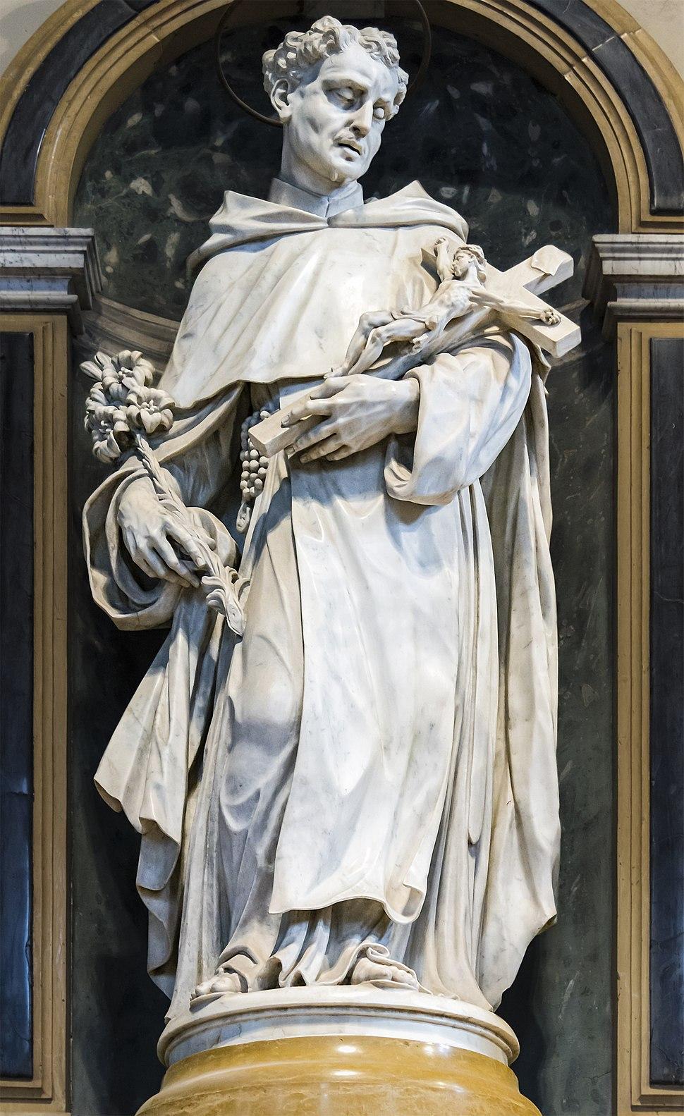 Santa Maria dei Servi (Padua) - Altare dell'Addolorata - San Filippo Benizi
