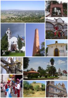 Santiago Tequixquiac Municipal Seat in State of Mexico, Mexico