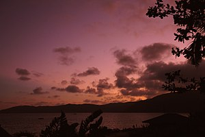 Sanya - Image: Sanya Sunset photo by Dale Preston
