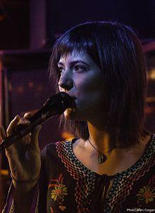 Sara Niemietz performing live September 29, 2015