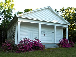 Sardis Baptist Church (Union Springs, Alabama) - Sardis Baptist Church in 2011