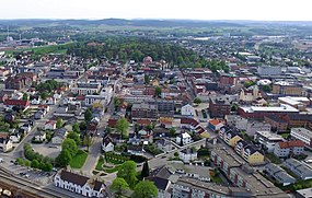 Sarpsborg station and town centre from north (3).jpg