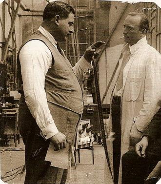 Sascha-Film - Count Alexander Kolowrat-Krakowski at the studio in 1916