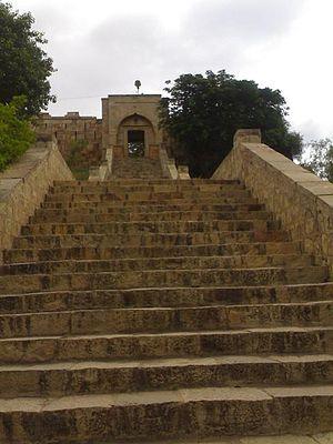 Saundatti -  Kadasiddheshwara temple in Savadatti Fort, Karnataka