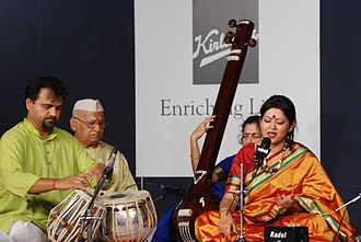 Indian classical music - An Indian classical music performance.