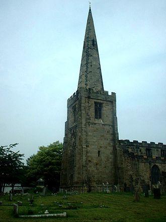 Sawley, Derbyshire - Sawley 'All Saints' Church