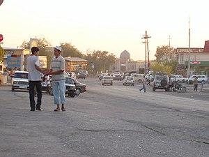 Sayram (city) - Image: Sayram Skyline