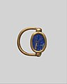 Scarab Finger Ring with the Names of Thutmose III and Hatshepsut MET DP310880.jpg