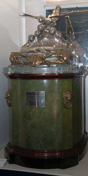 Schneider Trophy - The Schneider Trophy, on display at the Science Museum, London