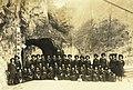Schoolgirls at the entrance of the Grand Taroko National Park.jpg