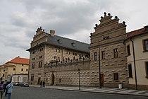 Schwarzenberský palác, Hradčanské náměstí, Praha.JPG
