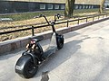 Scooter with big tires (43966591754).jpg