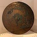 Scudo villanoviano, in bronzo, dalla tomba barberini a palestrina, 700-650 ac ca. (museo villa giulia).jpg