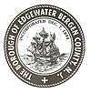 Official seal of Edgewater, New Jersey